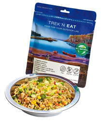 treknEat Vegetable Jambalaya