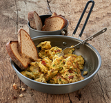 trekneat Scrambled Eggs with Onions thumb
