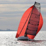 Seascape 24 Downwind