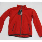 Musto Evolution Fleecejacke rot